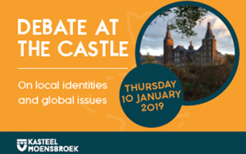 Debate at the castle: local identities and global issues, on 10 January